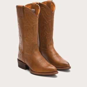 Frye Bruce Pull-On Boot in Cognac